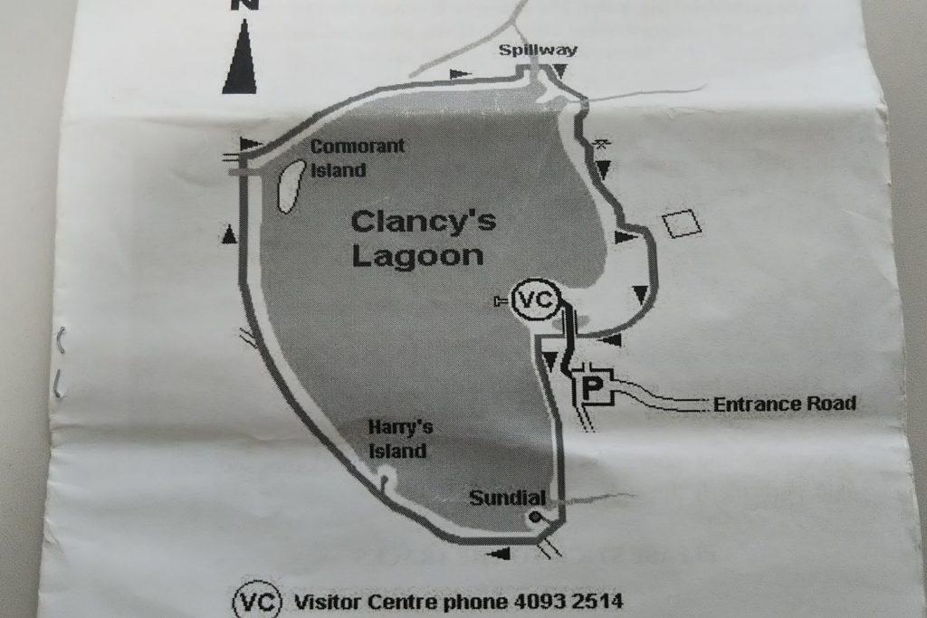 マリーバウェットランドのウォーキングコース