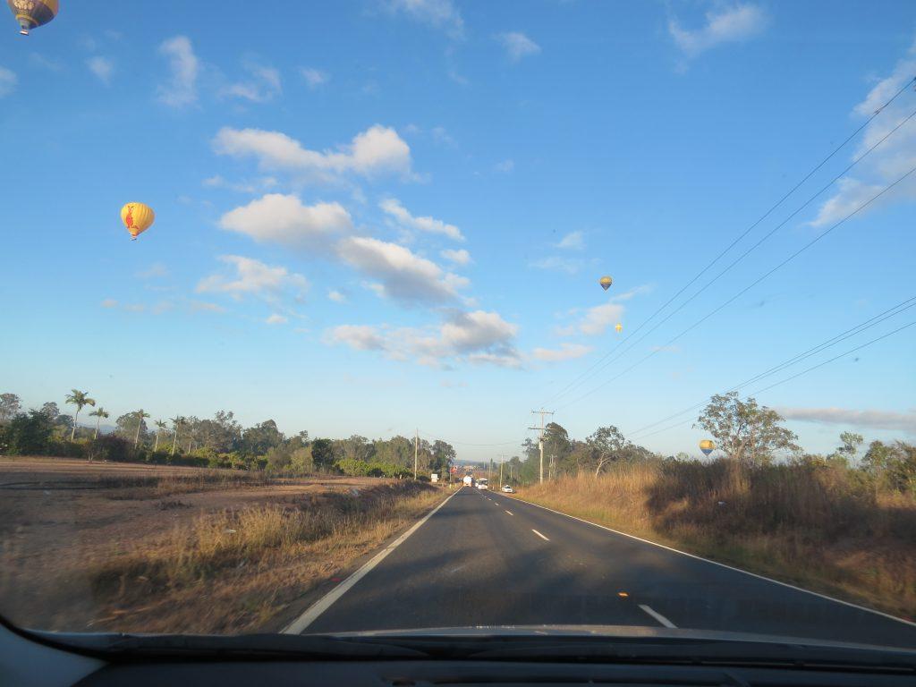 マリーバの熱気球
