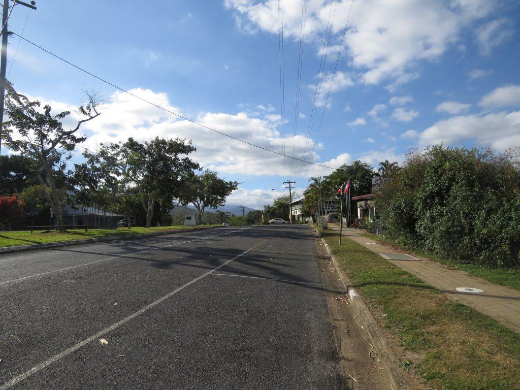 マウントモロイの道路