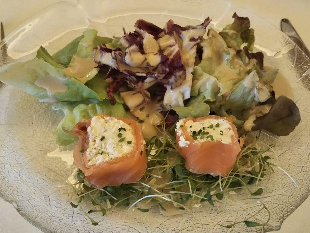 ホテルシェサスプオンダスの夕食:前菜