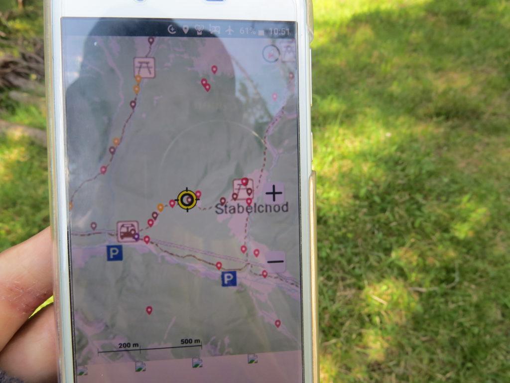 スイス国立公園アプリiWebPark