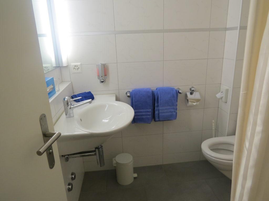 ホテルシェサスプオンダスのバスルーム