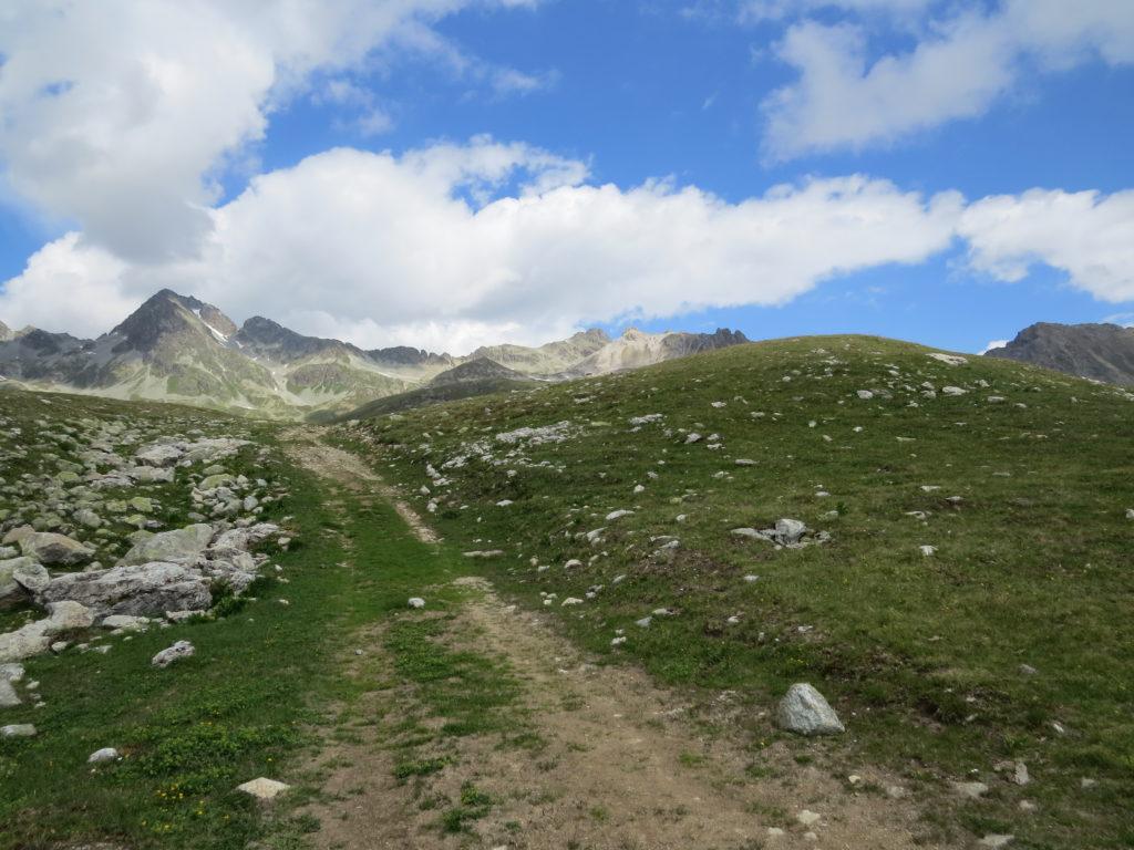 コルヴィリラ周辺のハイキングコース