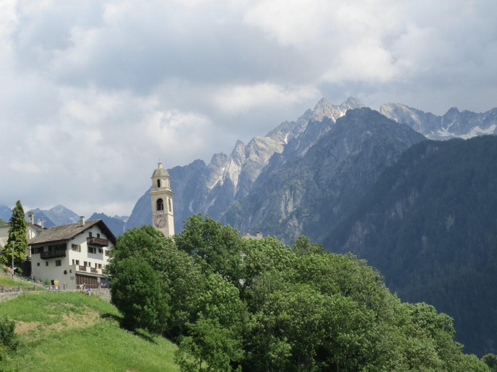 ソーリオの教会が見える景色